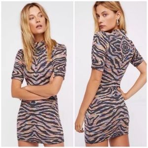 NEW Free People Bodycon Dress Take Me Out Medium